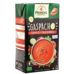 Gaspacho tomates concombres
